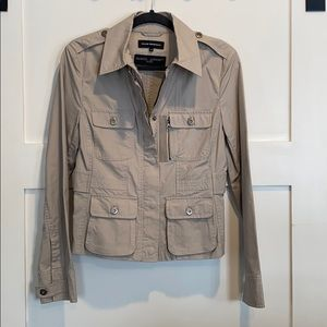 Club Monaco 100% Cotton Shell Jacket